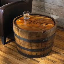 coffee tables simple furniture made from wine barrels whiskey