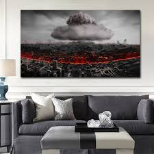 aliexpress com buy destruio nuclear nuke explosion city print