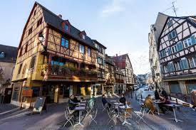 Colmar France Colmar France November 5 Exterior Views Of Historic Buildings