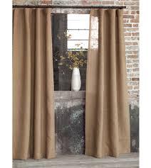 Linen Burlap Curtains Burlap Drapes With Grommets Business For Curtains Decoration