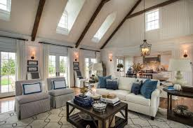 Coastal Living Kitchen Designs - the great room extends though the dining area and open kitchen the