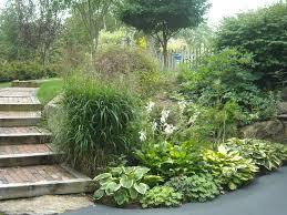 Sloped Backyard Landscape Ideas Steep Slope Landscaping Residential Slope Landscaping Techniques
