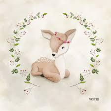 tableau deco chambre fille tableau enfant animaux fanfan