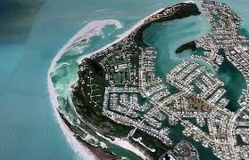 Marcos Island Florida Map Tigertail Beach On Marco Island Aerial Marco Island Florida