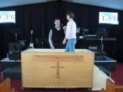 portable baptistry portable church pools