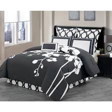 Black And Gray Duvet Cover Bedding Sets Bedding The Home Depot