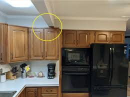 what is standard height for kitchen cabinets kitchen cabinet beam conflict with cabinet