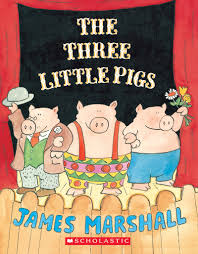 the three little pigs by james marshall scholastic