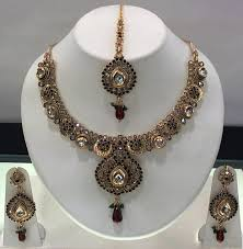 necklace sets images Authentic multi color necklace sets sri jaya jewellery chennai jpg
