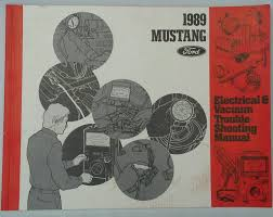 1989 ford mustang electrical vacuum service shop repair manual