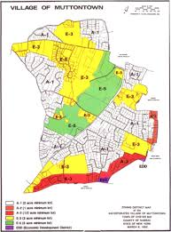 Zoning Map Incorporated Village Of Muttontown