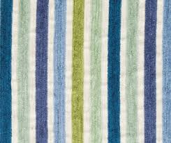 Upholstery Fabric Striped Peacock Blue Chenille Upholstery Fabric For Furniture Blue