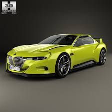 bmw 2015 model cars bmw 3 0 csl hommage 2015 3d model