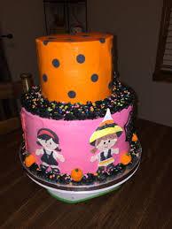 halloween cake decorating supplies 2 tier halloween birthday cake cakecentral com