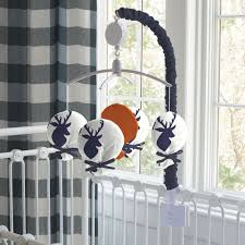 Deer Mobile For Crib Navy Deer Woodland Mobile Carousel Designs
