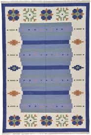 blue 6 u0027 7 x 9 u0027 10 kilim dhurrie rug modern rugs esalerugs