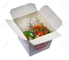 cuisine d une chinoise nouilles de riz chinoises de la viande et la sauce d huître