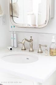 how to organize small bathroom cabinets bathroom minimalism how i organize my small bathrooms so