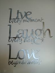 live laugh love wall de project for awesome live love laugh wall