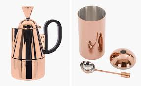 home brew tom dixon launches copper coffee set collection tom