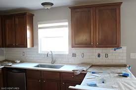 tile backsplashes for kitchens duo ventures kitchen makeover subway tile backsplash installation