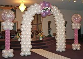 wedding arch balloons wedding balloons party favors ideas