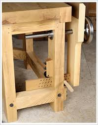 How To Build A Bench Vise Parallel Leg Vise With St Andrew U0027s Cross 6 Steps With Pictures