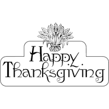 free black and white thanksgiving clip happy thanksgiving