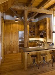 Cabin Kitchen Ideas Cabin Kitchen Design Ideas Kitchen Rustic With Exposed Timber Dark