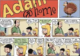 family thanksgiving comics sunday funnies family