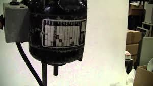 bodine gearmotor nse 11r youtube