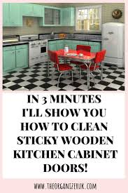 best way to clean sticky wood kitchen cabinets how to clean sticky wood kitchen cabinets the organizer uk