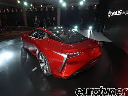 lexus concept lf lc lexus lf lc hybrid sports coupe concept lexus design eurotuner
