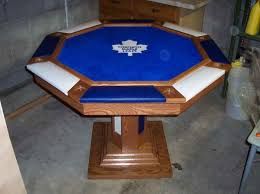 Octagon Poker Table Plans Octagon Poker Table Top For Your Entertainment Room With Toronto