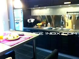 quel revetement mural pour cuisine quel revetement mural pour cuisine plaque murale inox cuisine