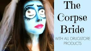 zombie bride spirit halloween emily corpse bride halloween makeup tutoral 2016 youtube
