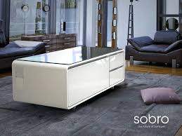 smart coffee table fridge coffee table with built in fridge and speakers why a tech connected
