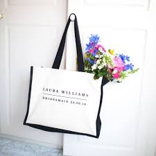 bridesmaid bags personalised bridesmaid bag from rosie willett designs