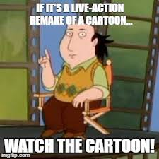 Cartoon Meme Maker - the critic advises against the jungle book imgflip