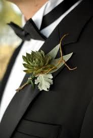 Succulent Boutonniere Green Wedding Succulent Boutonniere For Groom 791032 Weddbook
