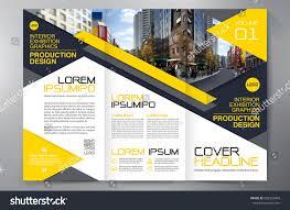 flyer property business brochure flyer design leaflets 3 stock vector 662229469