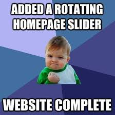 Website Meme - website rotating slider meme pbj marketing