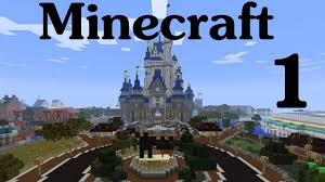 Disney World Magic Kingdom Map Minecraft Disney World Ep 1 Entering The Magic Kingdom Youtube