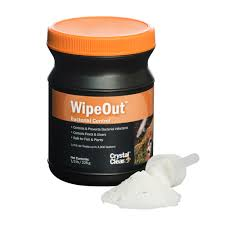 crystal clear wipeout fish bacterial infection treatment