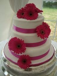 wedding cakes gerbera daisies google search wedding cakes