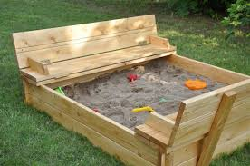sliding lid sand box block bench wooden sandbox with shabby chic