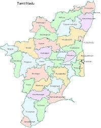 tamil nadu map tamil nadu all information list district list map