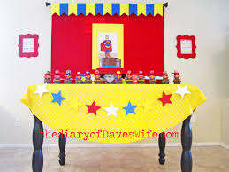 Superman Bedroom Decor by Awesome Boys Party Ideas Superman Idolza