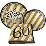 celebrate 60 birthday 8 count paper dessert plates celebrate 60