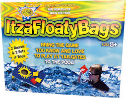 amazon com water sports itzafloatybags bean bag toss game for the